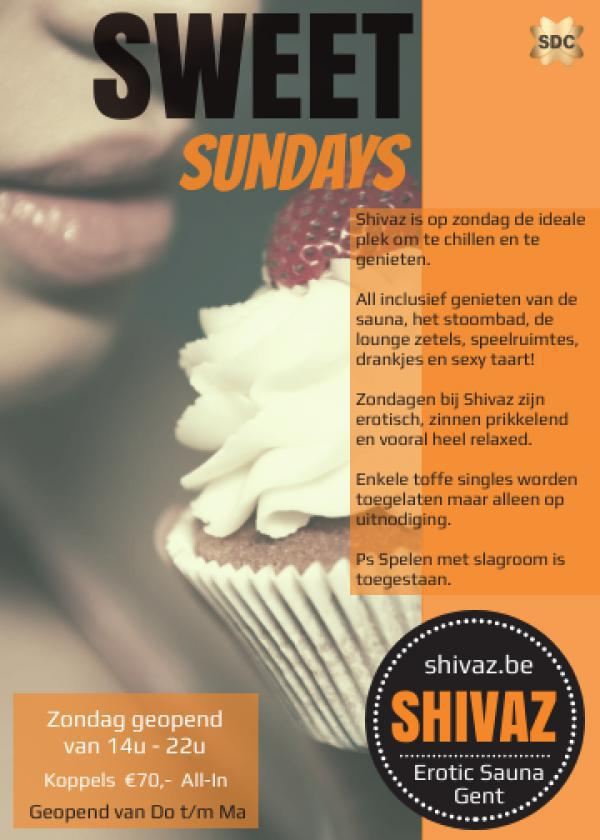 Sweet Sundays - Shivaz Erotic Sauna - GECANCELED-Mar 29, 2020 SDC.com
