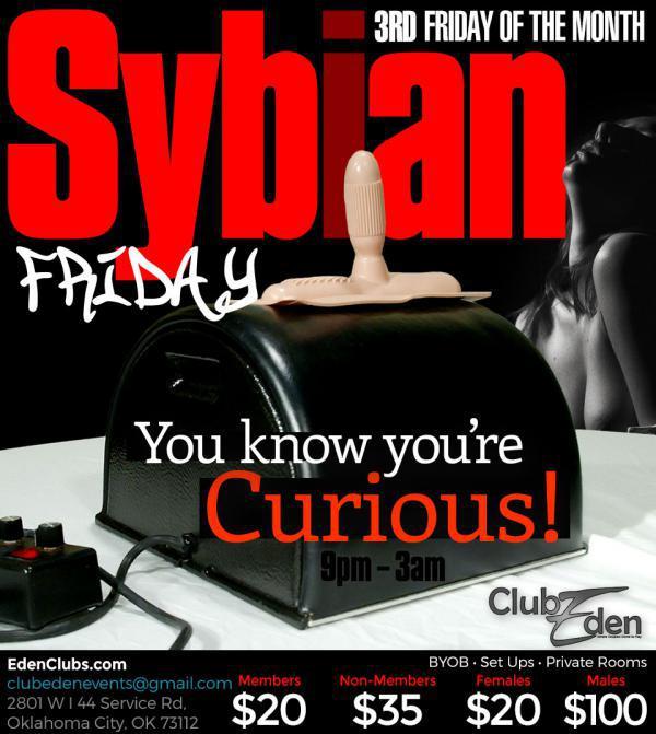 CLUB EDEN Sybian Party in OKC-Jun 19, 2020 SDC.com