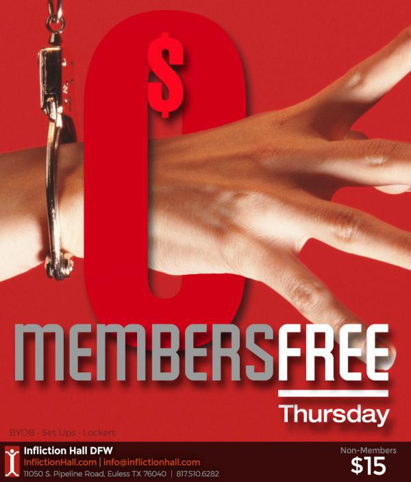 Members Free - Infliction Hall-Jun 18, 2020 SDC.com