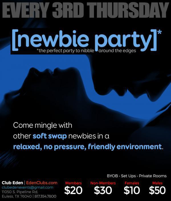 Newbie Night - Eden DFW-Jun 18, 2020 SDC.com