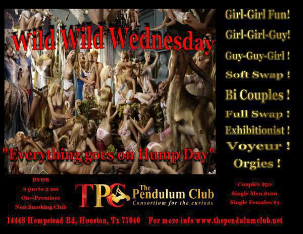 WILD- WILD WEDNESDAY - THE PENDULUM CLUB Hempstead-Jun 17, 2020 SDC.com