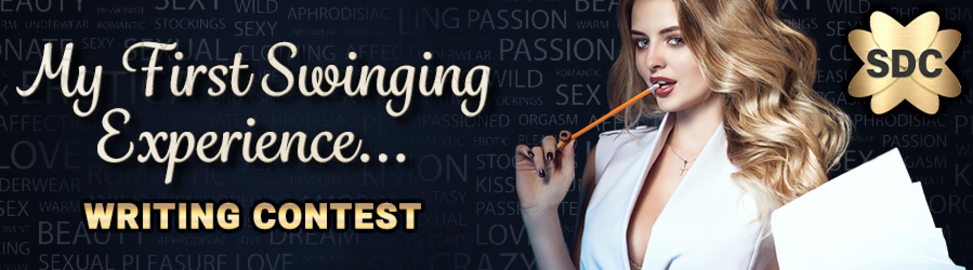 SDC Erotic Writing Contest First Swinging Experience Ledenverhaal