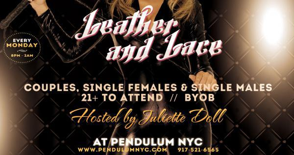 Leather - Lace Party - PENDULUM NYC-Aug 03, 2020 SDC.com