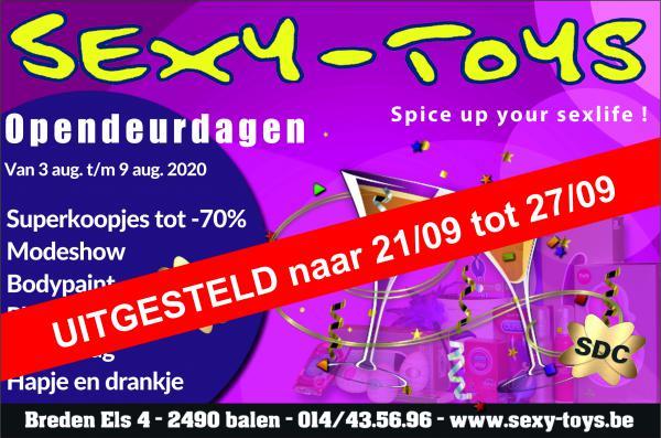Opendeur Sexy Toys - VERZET NAAR 21 TM 27 AUG-Aug 03, 2020 SDC.com