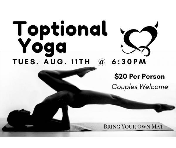 Tuesday Nights Toptional Yoga-Aug 11, 2020 SDC.com