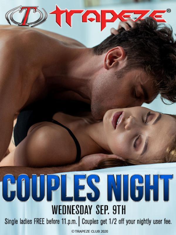 Couples Night - TRAPEZE CLUB-Sep 09, 2020 SDC.com