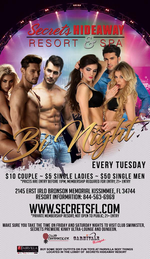 Bi Night - Secrets Hideaway-Oct 13, 2020 SDC.com