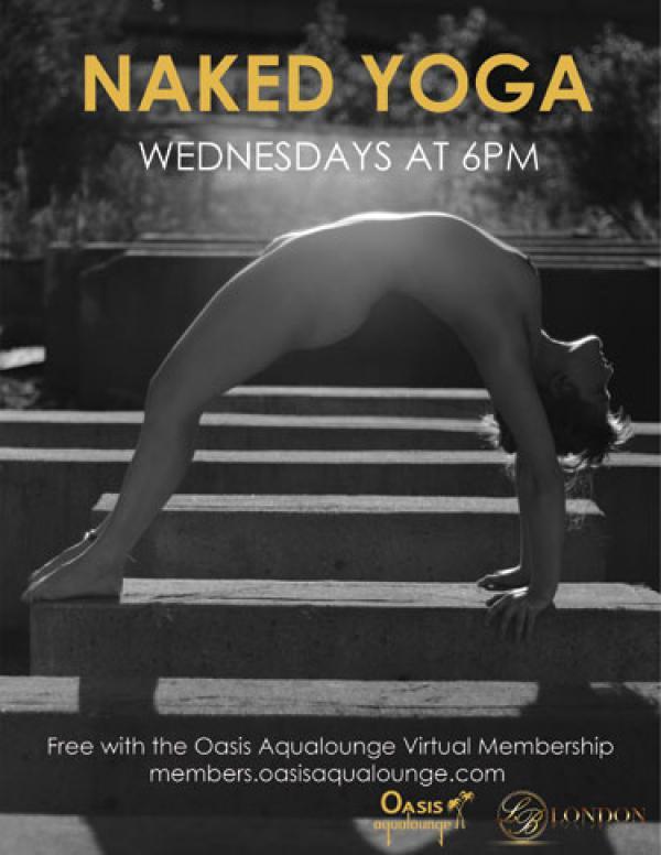 Naked Yoga Get limber with Bri-Oct 21, 2020 SDC.com