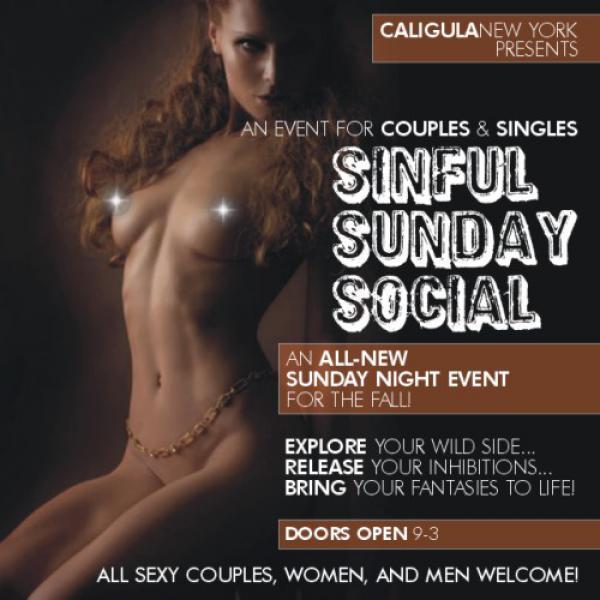 SINFUL SUNDAY NIGHT SOCIAL - CALIGULA NY-Oct 11, 2020 SDC.com