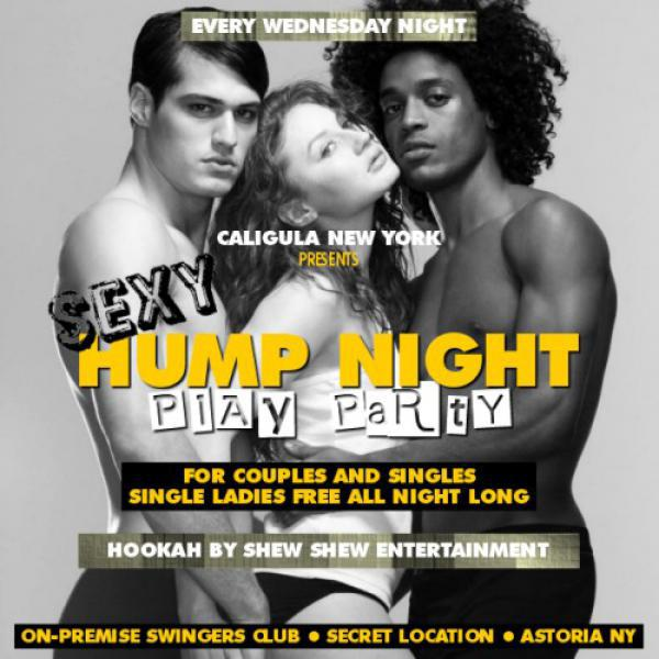 THE SEXY HUMP NIGHT PLAY PARTY - CALIGULA NY-Oct 14, 2020 SDC.com