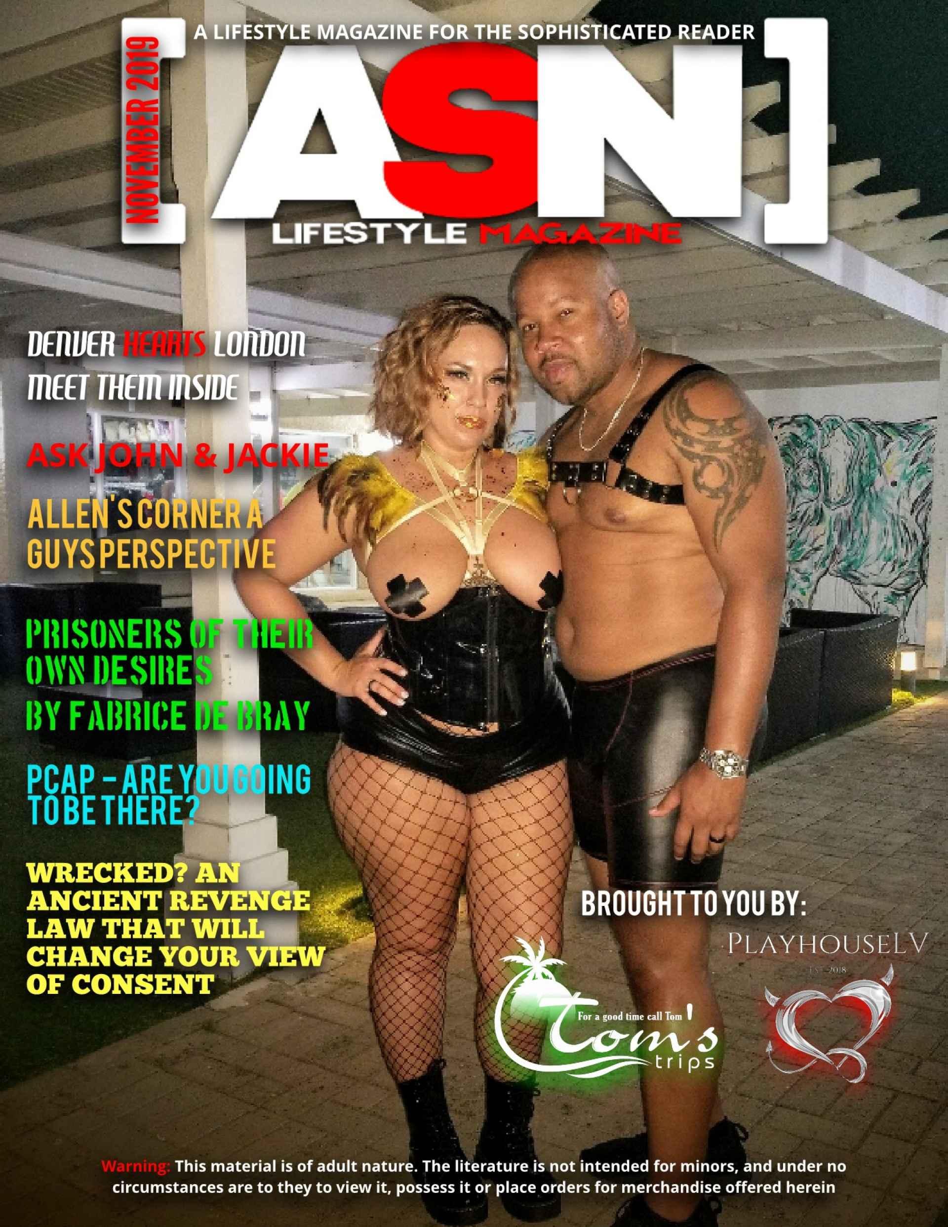 SDC ASN Lifestyle Magazine Swingers Lifestyle Media Novembre 2019