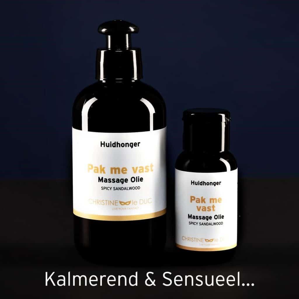 Welke geur van de Huidhonger massage producten past bij mij?