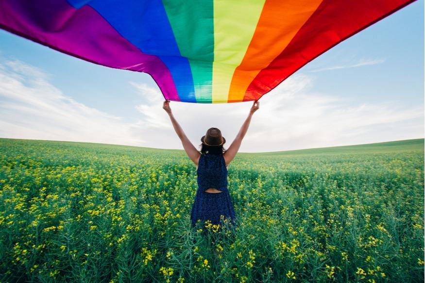 Liefde is vrijheid, dus vier het!