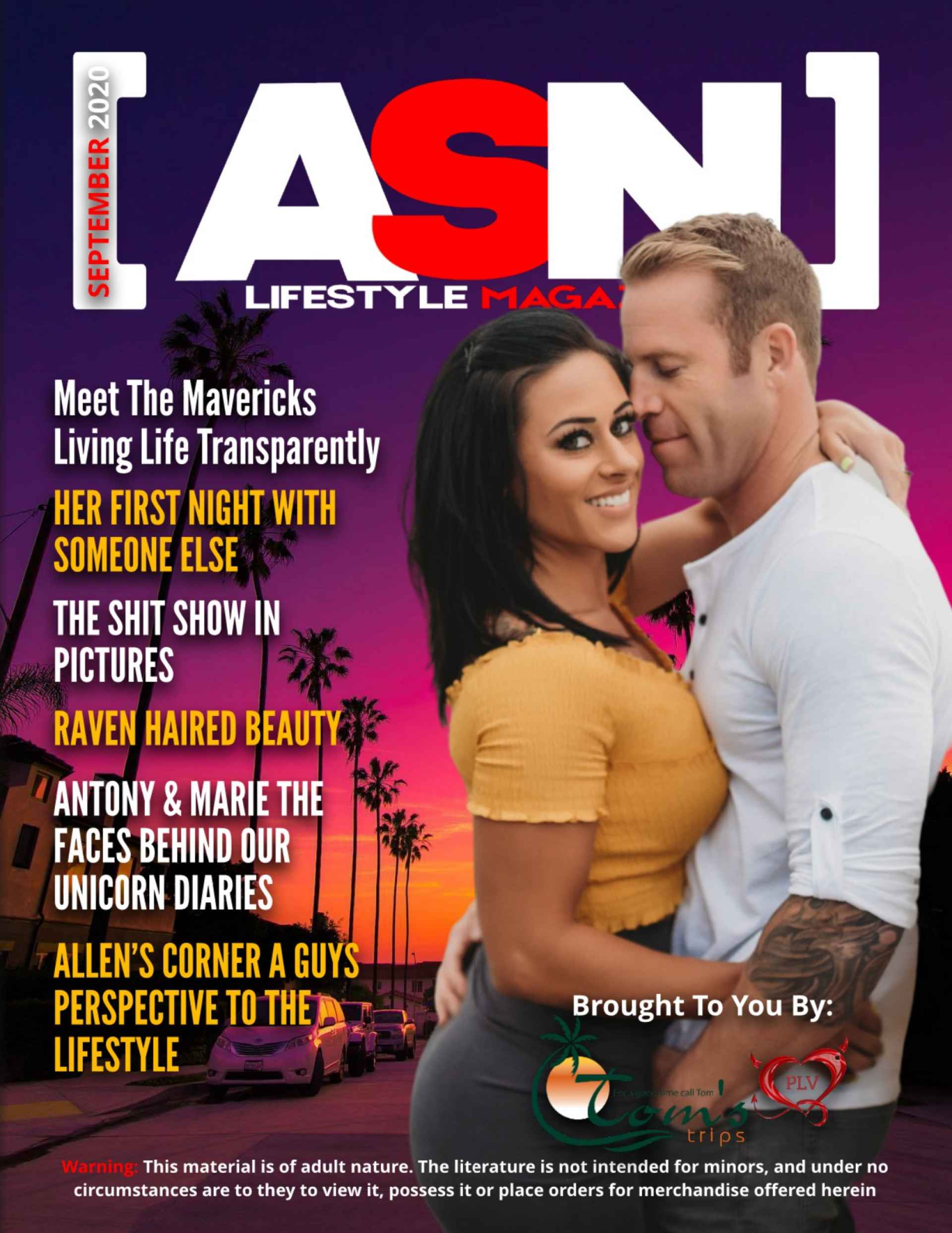 SDC ASN Lifestyle Magazine September 2020 Cover