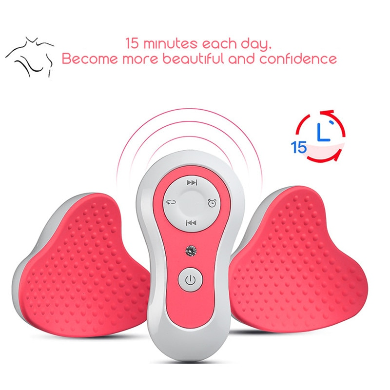 Magnet Breast Enhancer Electric Chest Enlargement Massager Anti-Chest Sagging Device Breast Acupressure Massage Therapy Tool 31