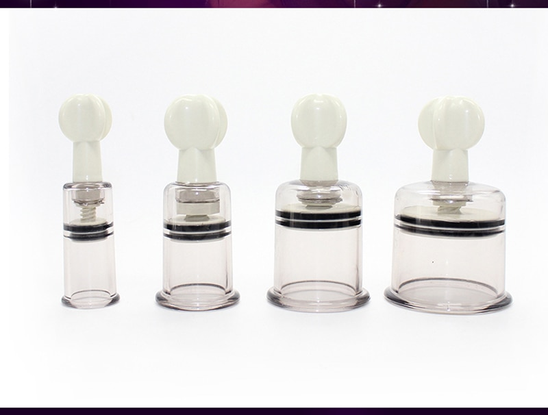 2pcs Female bdsm bondage Nipple Sucker Breast Enlarger Sex Product for Adults Women Clit Suction Vacuum Clamps Pumps Sex Toys
