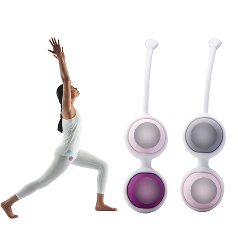 2/9PCS kegel Balls Set Kegel Exerciser Silicone Geisha Ben Wa Ball Vaginal tightening Muscles Pelvic Dumbbe Sex Toys For Women