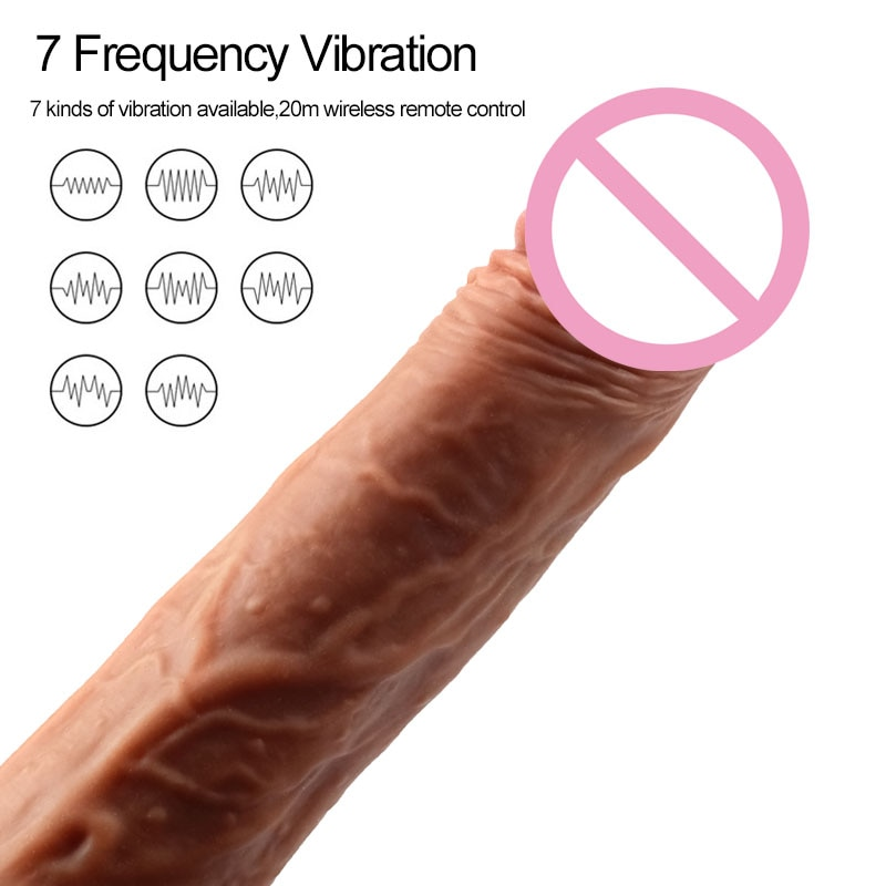Big Dildo Vibrator Dildos For Women Anal Dildo Realistic Telescopic Huge Penis Suction Cup Dick Large Phalos Sex Toys For Woman