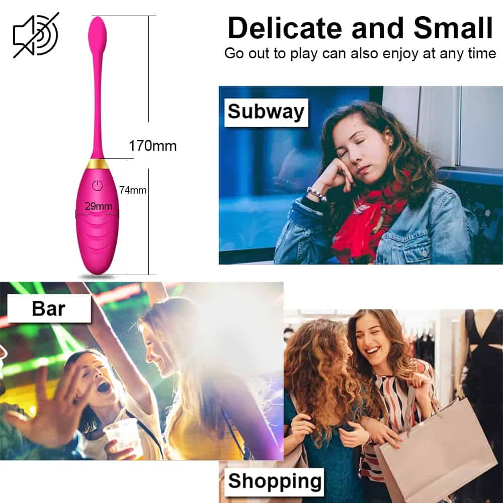 Wireless Vibrator Egg Sex Toys for Women G-Spot Simulator Jump Ball Vaginal Kegel Trainer Vibrating Remote Control Love Egg