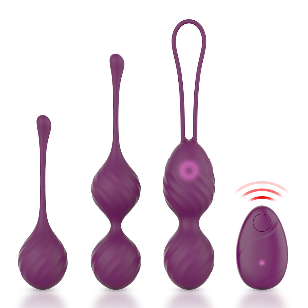 10 Speed Kegel Ball Remote Control Vaginal Tight Exercise Vibrating Egg Stimulator Massage ben Wa Geisha Balls Sex Toy for Women