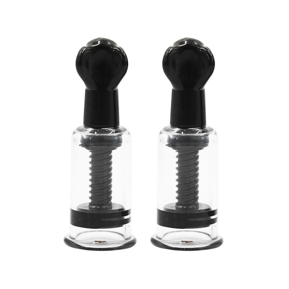 Breast Nipple Sucker Of 4 Sizes Sexy Breast Massage Clip Enhancement Vacuum Pump Sucker Breast Enlarger Vibrating Sex Adults Toy