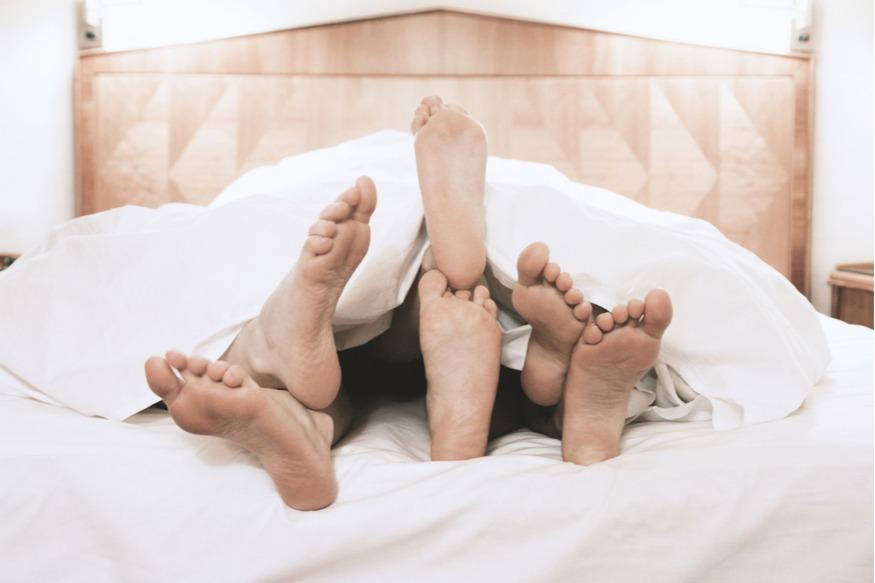 Mijn eerste trio: seks met twee mannen