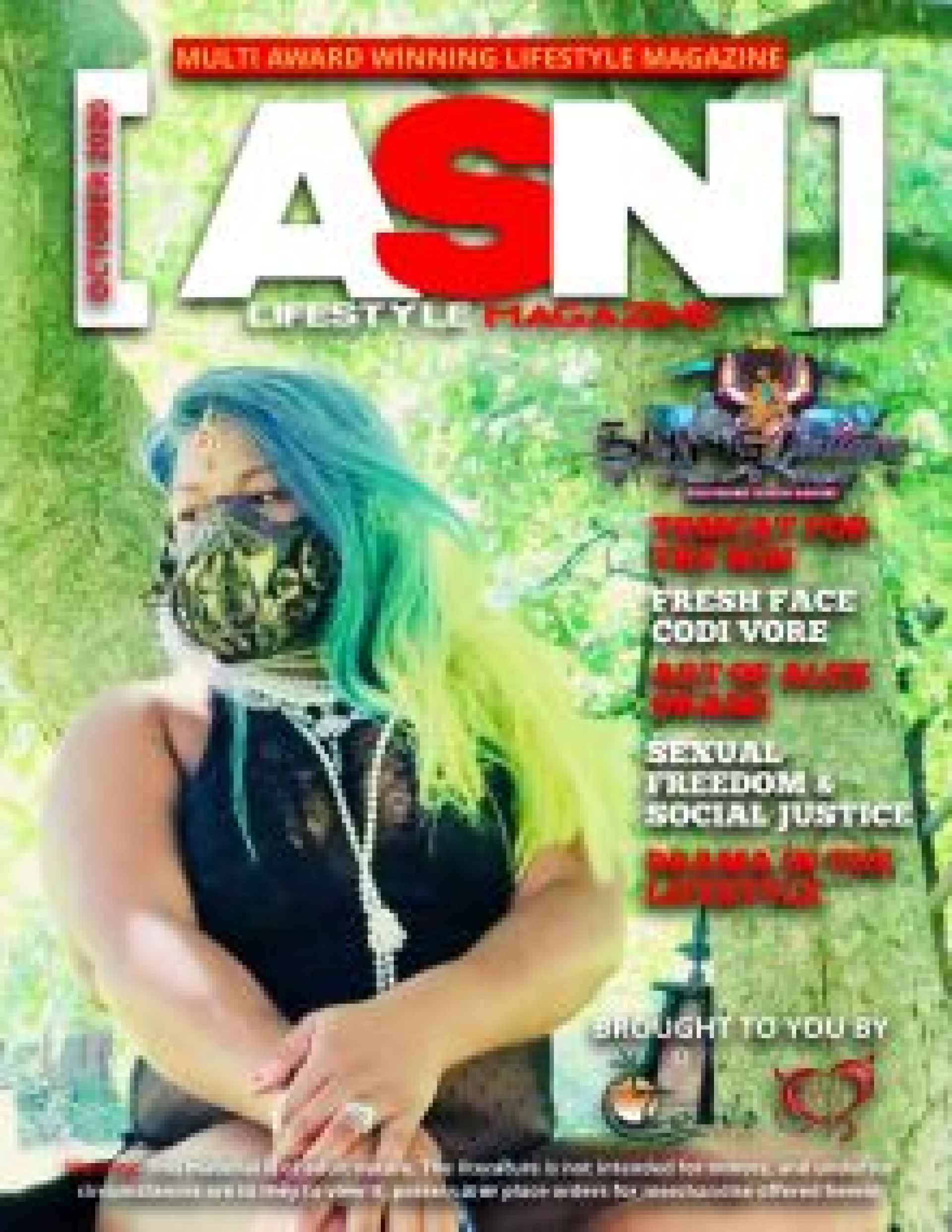 ASN Lifestyle Magazine October 2020 Issue Cover