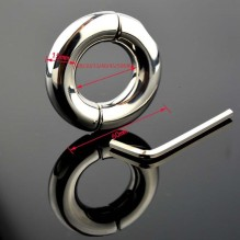 Metal Male Cockring Clamp Chastity Cage Adult Sex Toys Screw Penis Ring Bondage Scrotum Dick Stretcher Cock Ring Delay  For Men