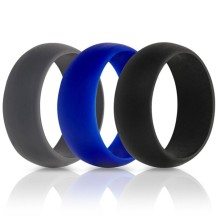 3 Pcs Silicone Cock Ring Penis Enhance Erection Sex Toys For Men Delay Ejaculation Cockring Intimate Goods Sex Shop