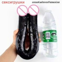 Long Realistic Dildo Double head Dildo Jelly Double Ended Dildo Flexible Big Penis for Women Masturbator Sex Toys for Lesbian